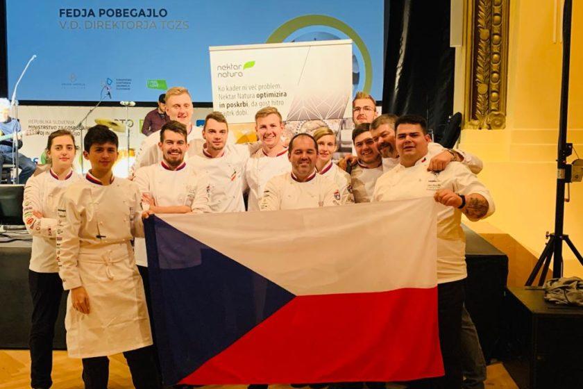 Junioři vezou ze Slovinska první místo!